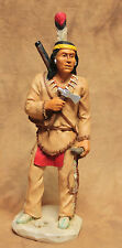 "Castagna Indianer ""Tecumseh"" (Chief of the Beautiful River) Sammelfigur aus 1993"