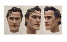 "Ash Head for SideShow 1/6 scale 12"" Action Figure. Bruce Campbell Evil Dead"