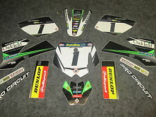 KTM SX50 2002-2008 Team Oakleaf Motorsports full graphic kit KT4968