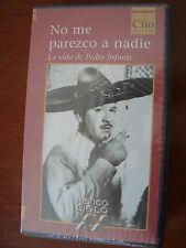 PEDRO INFANTE biografia biography VHS Tape cinta year 2000 Los 3 gallos MEXICO