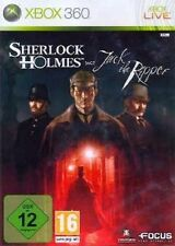 XBOX 360 SHERLOCK HOLMES JAGT JACK THE RIPPER TopZustand