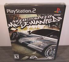 Need for Speed: Most Wanted (PS2) NEW. Black Label. First Print!