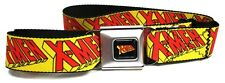 X-Men Wolverine Buckle-Down Belt Marvel Comics ADJUSTABLE! YELLOW