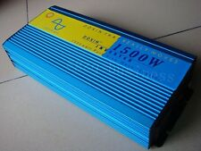 3000W Peak Real 1500W Pure Sine Wave Power Inverter Converter 24V DC to 220V AC