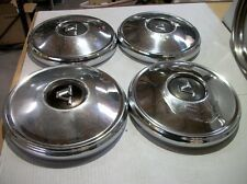 Volvo P1800 122S Set of 4 Hub Caps for 15 inch Wheels.