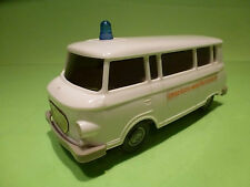 ANKER BARKAS B1000 - AMBULANCE ORSZAGOS MENTOSZOLGALAT 1:25 - GOOD CONDITION