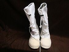 Sorel SNOWLION Women's SZ 5 White Waterproof Snow Rain Boots EUC Waterproof