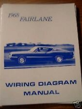 1968 Ford Fairlane Torino and Ranchero Wiring Diagram Manual