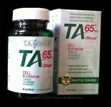 TA 65 90 Capsules Telomerase Anti Aging Supplement from TA Sciences