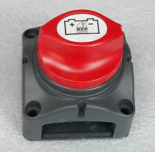 NEW RV, BOAT ROTARY 12 VOLT BATTERY CUT-OFF,ELECTRICAL DISCONNECT SWITCH