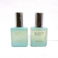 Clean Warm Cotton Eau De Parfum 0.21 oz SET OF 2 READ DESCRIPTION