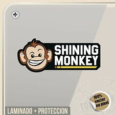 PEGATINA SHINING MONKEY LOGO KEN BLOCK DECAL VINILO VINYL STICKER DECAL ADESIVI