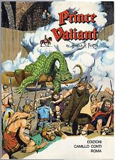 volume PRINCE VALIANT IN THE DAYS OF KING ARTHUR editoriale CONTI 1961-1962