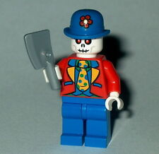 HALLOWEEN #18 Lego Killer Undead Clown w/Cleaver NEW spooky Skeleton