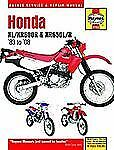 1983-2008 Haynes Honda XL/XR-600R & XL650L/R Hardback Repair Manual
