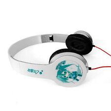 Anime Hatsune Miku White Headphone Headset Earphone Logo Emblem New in Box A