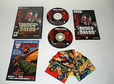 JUDGE DREDD VS DEATH complete PC game boxed with manual + stickers