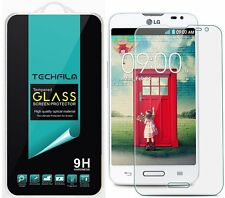 TechFilm® Tempered Glass Screen Protector Saver Shield For LG Realm LS620