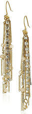 KENNETH COLE New York 'Fringe Worthy' Faceted Bead Two-Tone Chain Drop Earrings