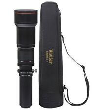Vivitar 650-1300mm f/8-16 Tele Zoom Lens for Canon EOS 5D 7D 60D 50D 30D 10D SL1