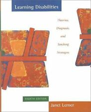 Learning Disabilities, Eighth Edition by Lerner, Janet; Lerner, Loren