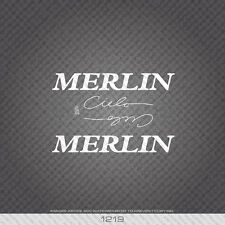 01219 Merlin Cielo Bicycle Stickers - Decals - Transfers - White