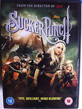 Emily Browning Vanessa Anne Hudgens SUCKER PUNCH ~ 2011 Action Sci-Fi| UK DVD