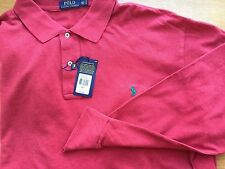 Polo Ralph Lauren Longsleeve Mesh Flame Heat Polo Shirt 3XLT 3XT 3LT Men $115