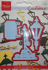 Marianne creatables Die Cut, Lamp and Sign, craft, card making,0191