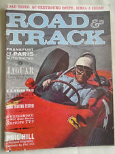 Road & Track Jan 1962 AC Greyhound Coupe