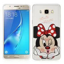 Custodia Cover TPU Silicone Ultra-sottile Minnie Mouse Samsung Galaxy J5 2016