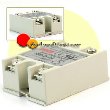 New SSR-25 DA Solid State Relay Input 3-32V DC Output 25A 24V-380V AC Switching