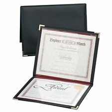 """Anglers Diploma And Certificate Holder - 12"""" X 9"""" - 2 Pockets - Polypropylene -"""