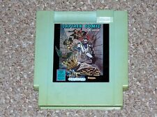 Captain Comic Nintendo NES Blue Color Dreams Cartridge