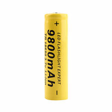 3.7V 18650 9800mAh Capacity Li-ion Rechargeable Battery For Flashlight Torch#SR
