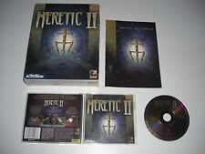 HERETIC II 2 Pc Cd Rom Original BIG BOX - Fast, Secure Post