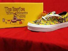 Vans Unisex Yellow Submarine Beatles sneakers shoes Garden/True Mens 10 Uk 9
