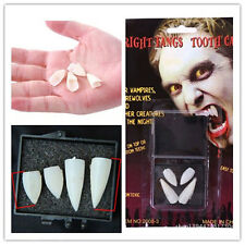 Fancy Halloween Zombie Dress Deluxe Fangs Scarecrow Vampire Werewolf Fake Teeth