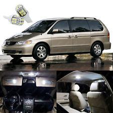 15 x Xenon White LED Lights Interior Package Kit For Honda ODYSSEY 1999 - 2004
