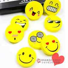 4pcs Emoji Smile Face Cute Laugh Magic Erasers Students  Kids Study Office Gifts