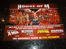 "HOUSE OF M ""POSTER"" -  Size 10"" by 13"" - Marvel Comic"