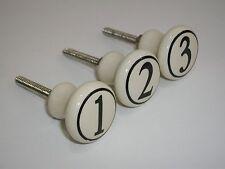 Set v. 3 Furniture button 1 - 2 - 3 Dresser Drawer Shabby Vintage D
