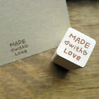 Decorative Stamps Maple And Rubber Stamp made with love