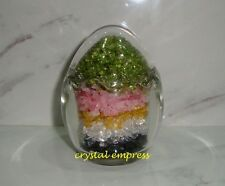 Feng Shui - Five Element Crystal Egg for Good Fortune (Small)