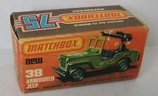 Repro Box Matchbox Superfast Nr.38 Armoured Jeep