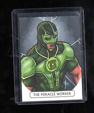 2016 Cryptozoic DC Justice league Leon Braojos sketch card