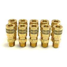"10 Foster Quick Connect 3/8"" Male NPT Air Hose Coupler - Milton M Style"
