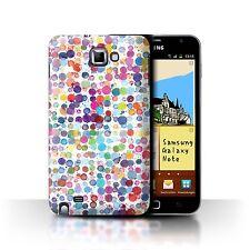 STUFF4 Hülle/Case für Samsung Galaxy Note/N7000/Bunte Punkte/Wintermode
