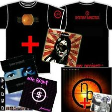 NEW PROJECT Collection 7 CDs, DVD, T-shirt industrial metal cyberpunk