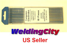 10-pk 2.0% Ceriated (Grey) 1/16x7 TIG Welding Tungsten Electrode (U.S. Seller)